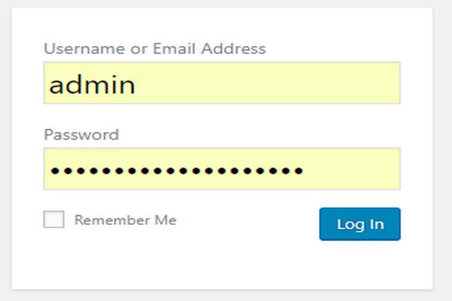Recover website admin login 1 - kwork.com