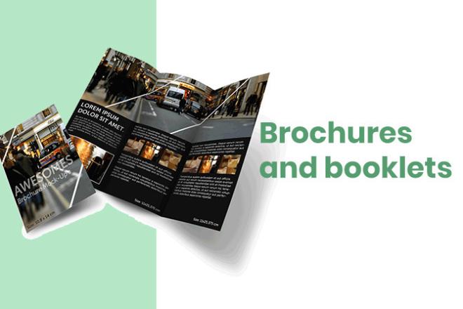 Brochures and booklets 1 - kwork.com
