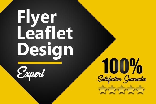 I Will Design Flyers And Leaflets, Free Mockups 1 - kwork.com