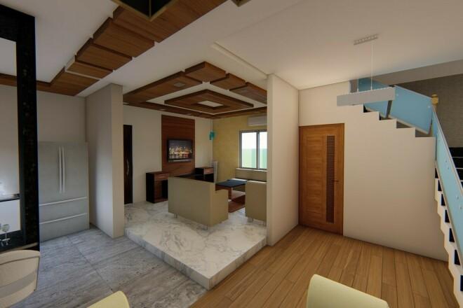 Architectural exterior and interior design 1 - kwork.com