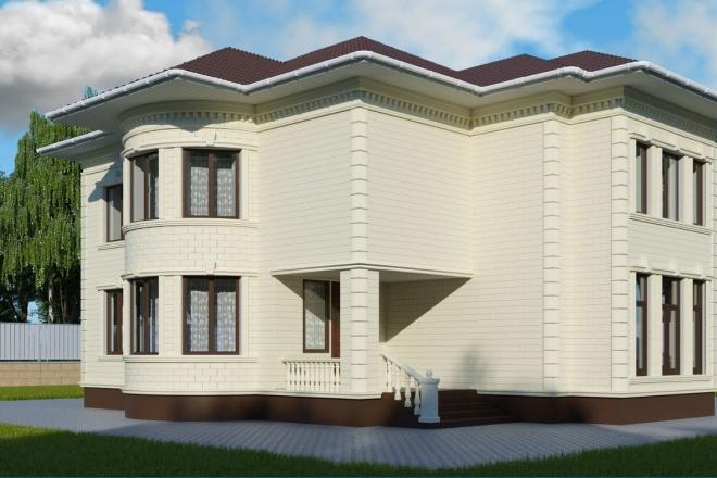 3d visualization exterior 5 - kwork.com