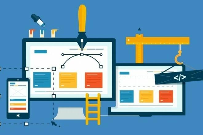 Creating a website on Wordpress 1 - kwork.com