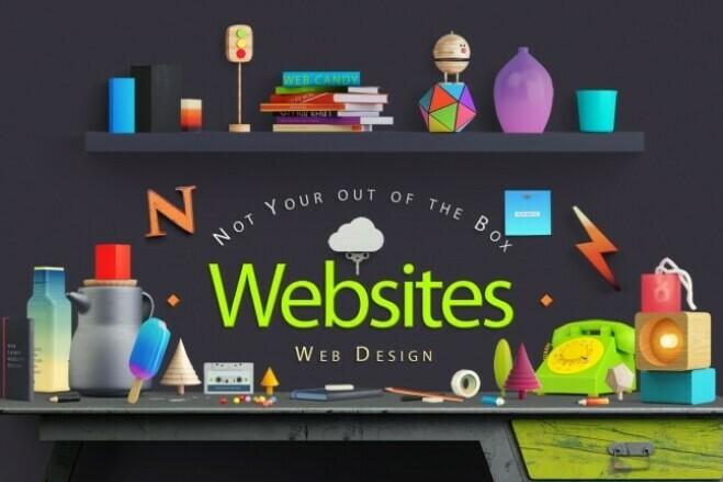 Creating a website on Wordpress 2 - kwork.com