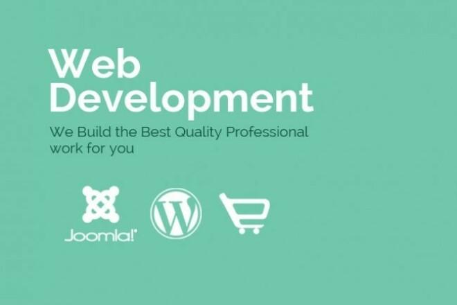 High-quality web-sites UX, UI. HTML5, CSS3, JavaScript, responsive 3 - kwork.com