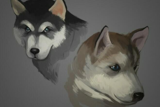 Make illustration 4 - kwork.com