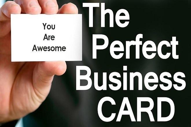 Create a Business Card 1 - kwork.com