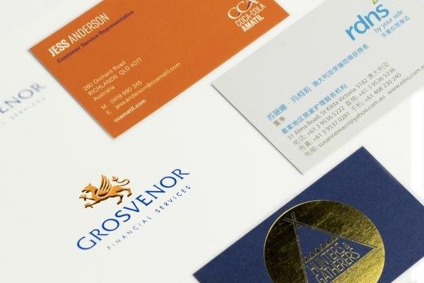 Make the design of business cards 1 - kwork.com