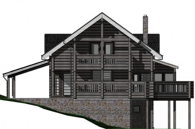 Design of individual houses 1 - kwork.com