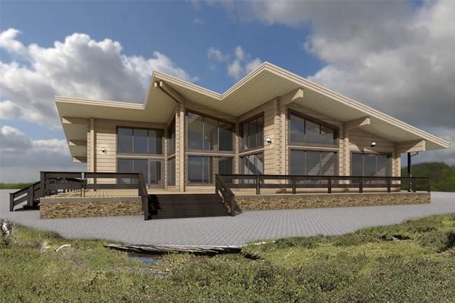 Design of individual houses 4 - kwork.com