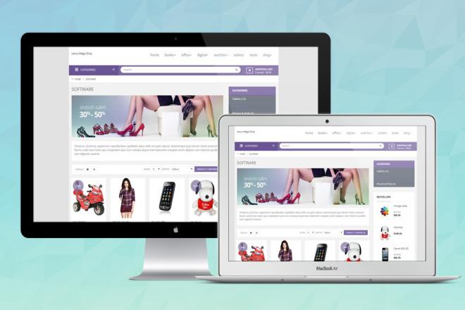 Complete Online Shop 4 - kwork.com