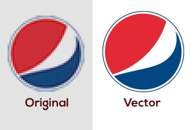 Trace logo to vector manually 6 - kwork.com