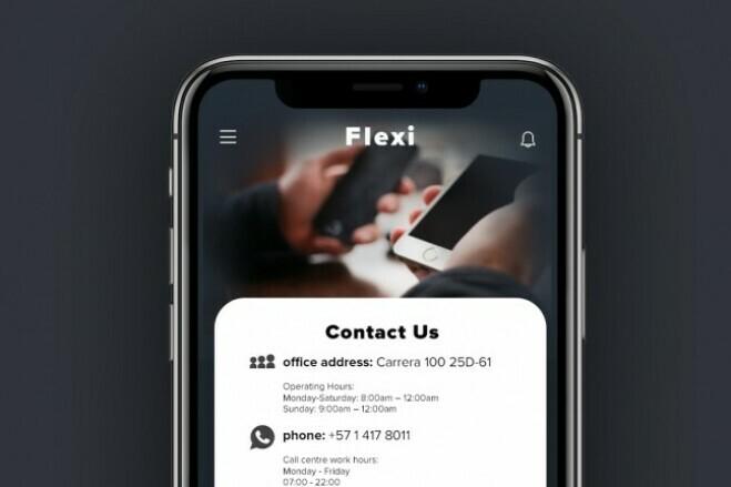 Mobile app design 1 - kwork.com