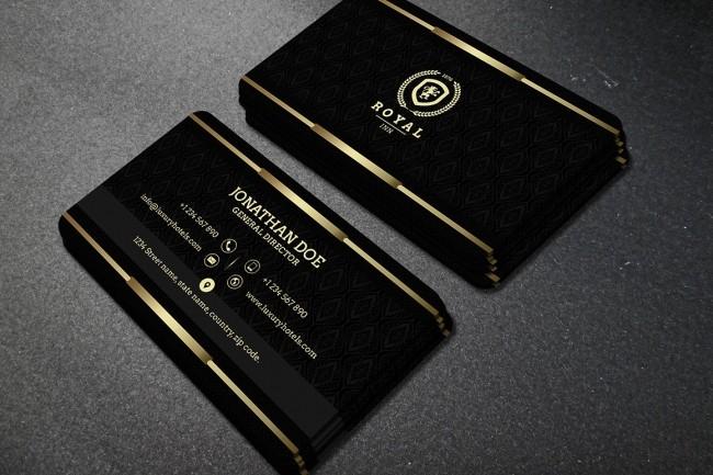 Create a unique business card design 3 - kwork.com