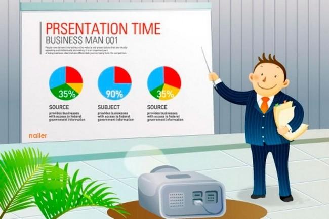 Make a presentation in PowerPoint 3 - kwork.com