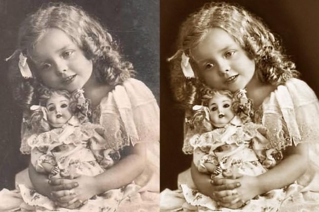 Old Photo Restoration 1 - kwork.com