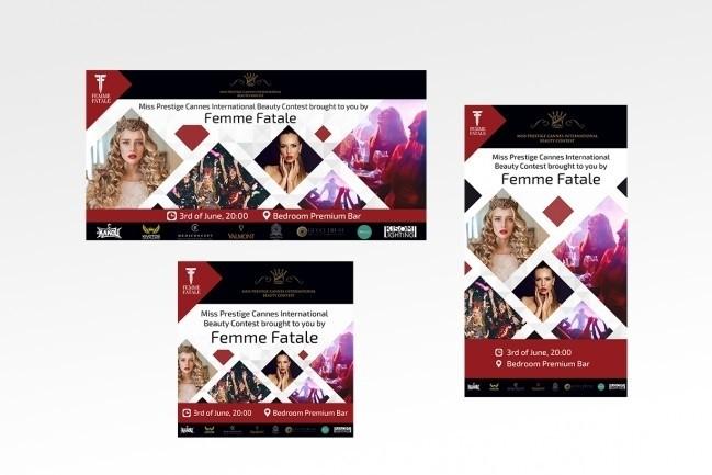 1-3 banner design 1 - kwork.com