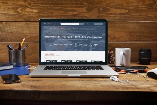 Design a creative psd web template 2 - kwork.com