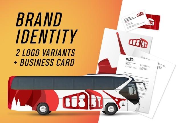 Brand Identity 1 - kwork.com