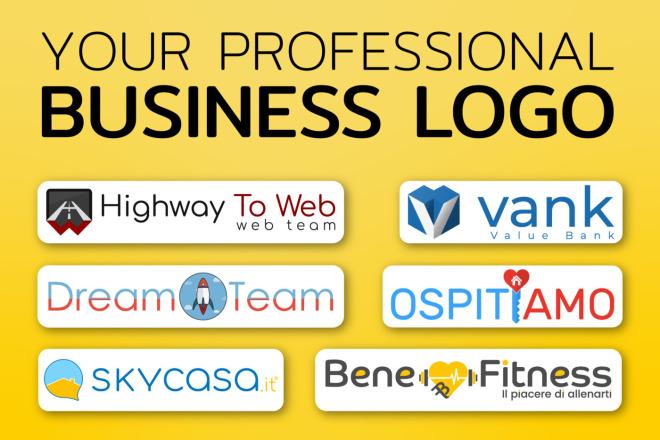 Your professional Business Logo 1 - kwork.com