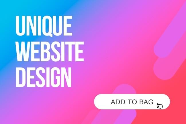 Unique Website Page Design 3 - kwork.com