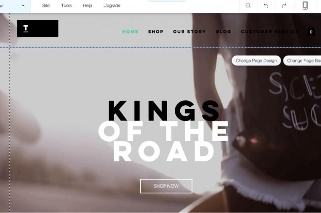 Create a site on Wix 1 - kwork.com