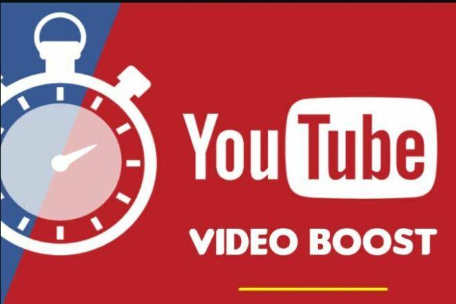 I will do youtube video promotion 1 - kwork.com