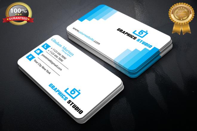 I will make Modern and Unique Business Card Design For you 6 - kwork.com