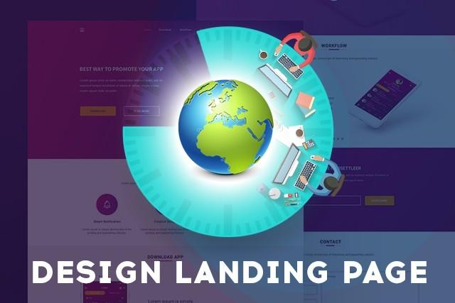 I Will Create Stunning Landing Page Design 3 - kwork.com