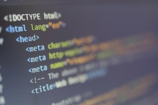 I will fix the problems of HTML W3C standard 1 - kwork.com