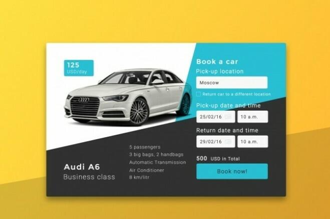 Web design for your site 3 - kwork.com