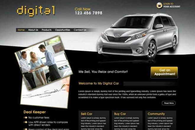I will design Professional website 1 - kwork.com