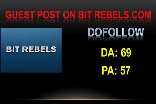 I will Publish Guest Post At Bit rebels Da 69 With Dofollow Link 1 - kwork.com