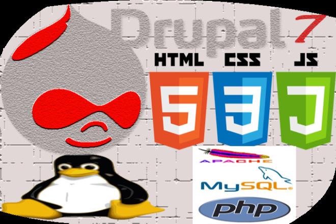 Websites' Development with Drupal 5 - kwork.com
