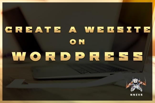 Create a website on wordpress 4 - kwork.com