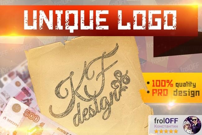 Create a unique logo 1 - kwork.com