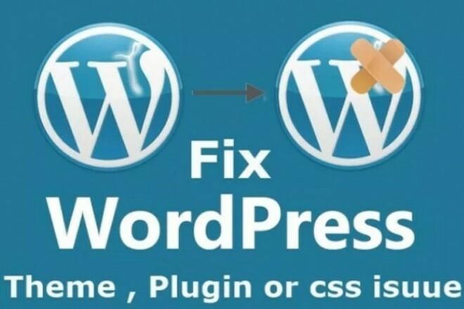 I Will Fix Your Wordpress Website 1 - kwork.com