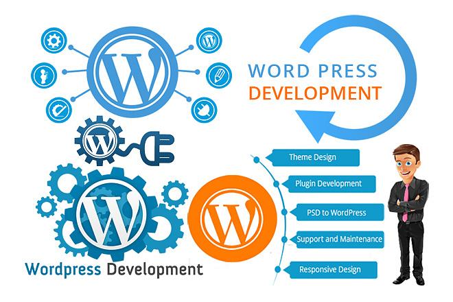I will create a Professional WordPress website 1 - kwork.com