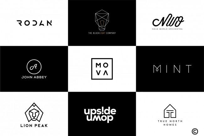 I Will Design Modern And Minimal Logotype 1 - kwork.com
