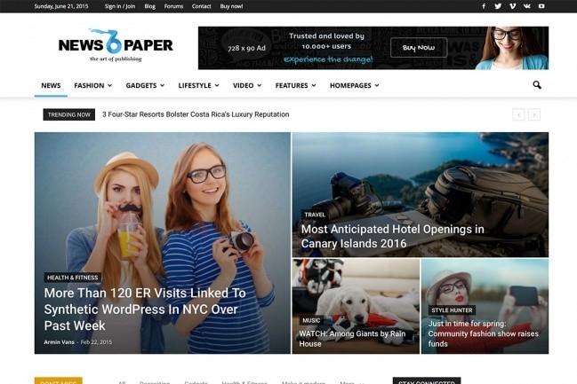 11 Most Popular Premium Templates For Wordpress 1 - kwork.com