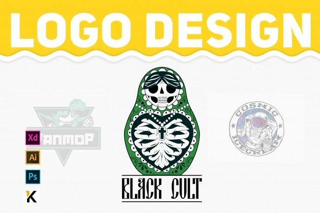 Logo design 1 - kwork.com