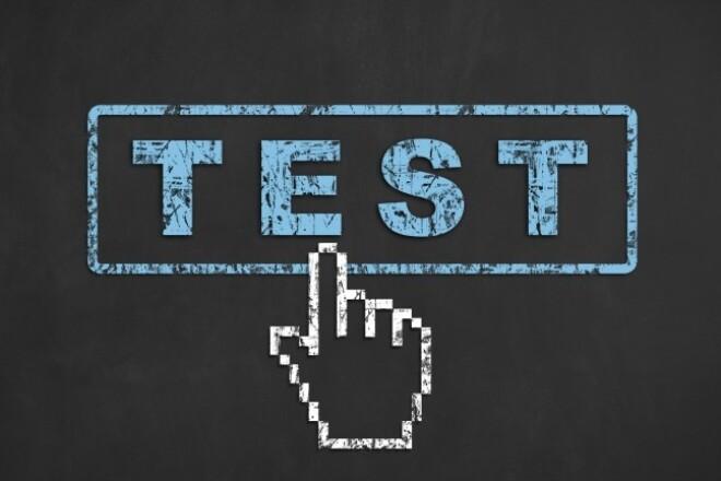 Mobile application testing 1 - kwork.com