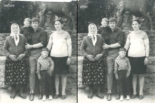 Restoration of photos 5 - kwork.com