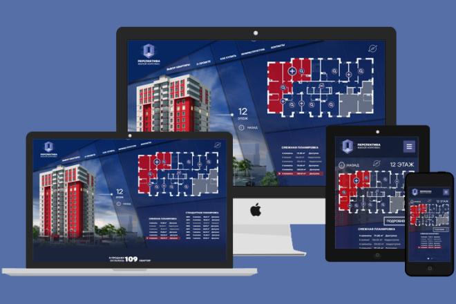 Website Layout. PSD, XD, Ai, Sketch, Figma 4 - kwork.com