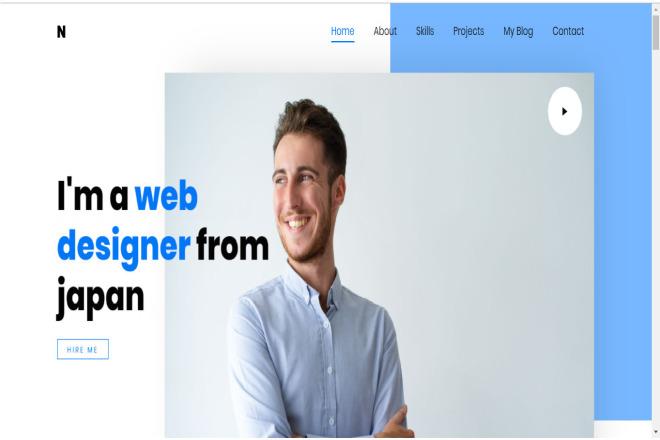 I will make beautiful design for your website 8 - kwork.com
