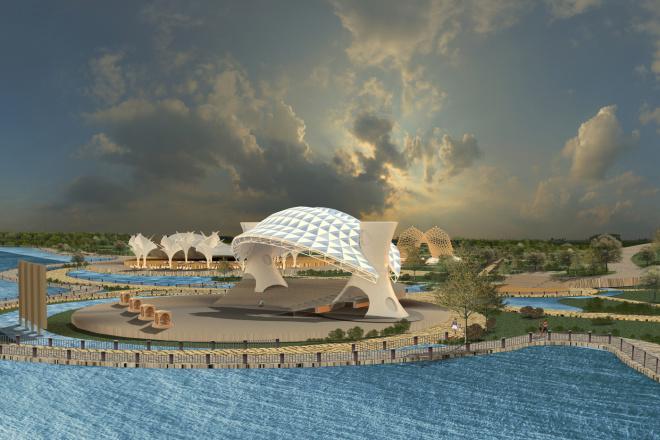 High-quality 3D visualization - exteriors, facades, terrain 1 - kwork.com