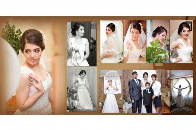 I will design the wedding photo book 1 - kwork.com