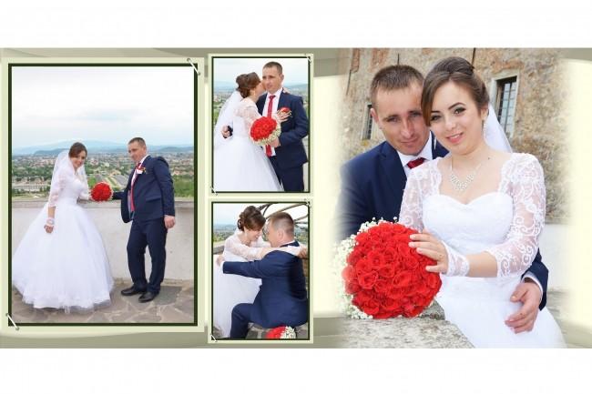 I will design the wedding photo book 2 - kwork.com
