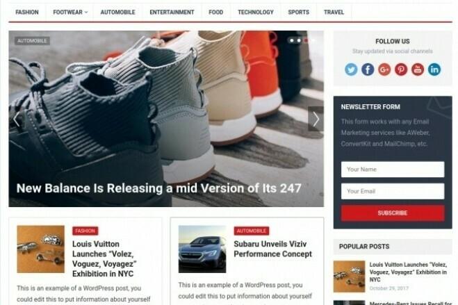 Business website development on WordPress 1 - kwork.com