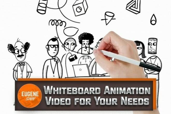 We Will Create Stunning Whiteboard Animation 1 - kwork.com