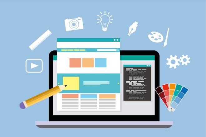 Blog, simple wordpress website 4 - kwork.com